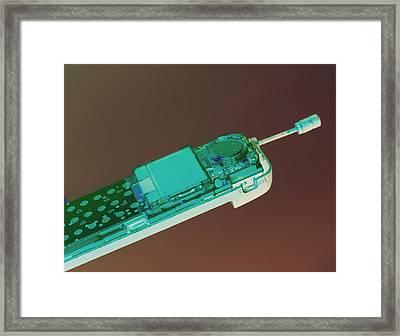 Mobile Telephone Framed Print