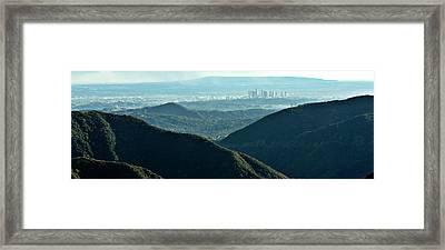 La From Twenty Miles Away Framed Print