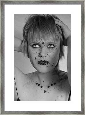 Mocha 1 Framed Print by Matthew Angelo