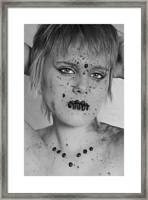 Mocha 3 Framed Print by Matthew Angelo