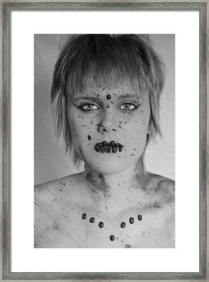 Mocha 4 Framed Print by Matthew Angelo