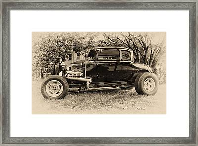 Model A Ford Framed Print by Bill Cannon