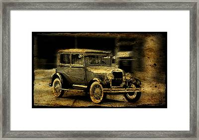 Model T No. 3 Framed Print by Janice Adomeit