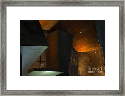 Framed Print featuring the photograph Modern Abstract by Andrew  Michael