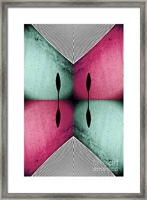 Modern Abstract With An African Theme 1 Framed Print by Emilio Lovisa