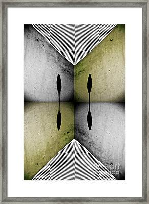 Modern Abstract With An African Theme 2. Framed Print