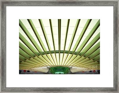 Modern Architecture Framed Print by Carlos Caetano