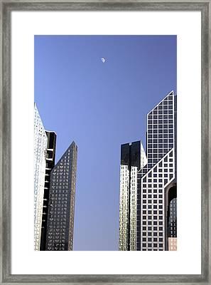 Modern Architecture  Framed Print by Radoslav Nedelchev