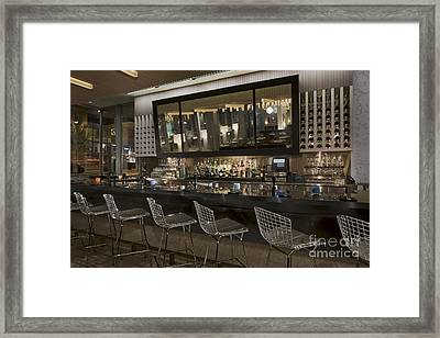 Modern Bar Framed Print by Robert Pisano