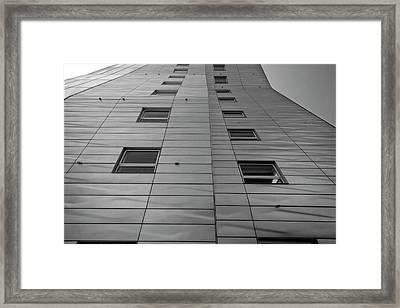 Modern Building Chelsea Nyc 4 Framed Print by Robert Ullmann