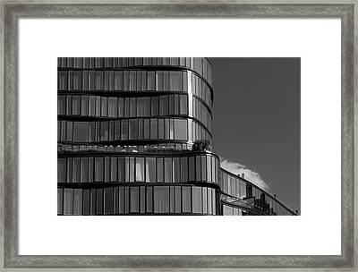 Modern Building Chelsea Nyc Framed Print by Robert Ullmann