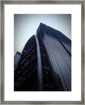 Modern Building In Tokyo Framed Print