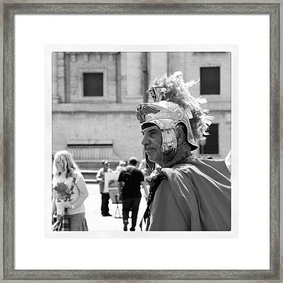 Modern Centurion Framed Print