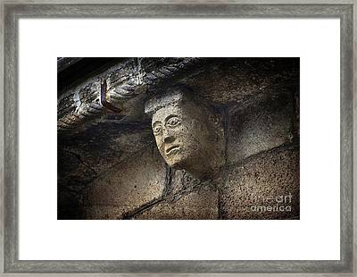 Modillon Framed Print by Bernard Jaubert