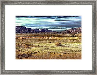 Mojave Desert Framed Print by Andre Salvador