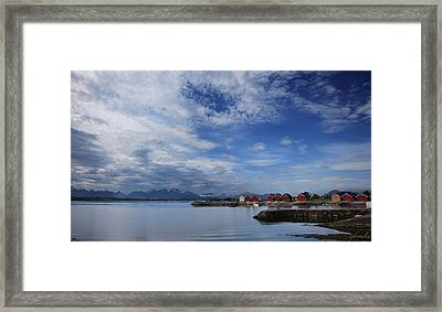 Molde Framed Print by Chad Bromley