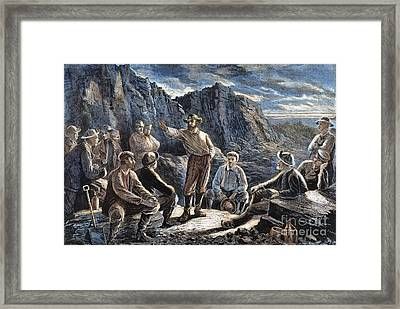 Molly Maguires, 1874 Framed Print by Granger