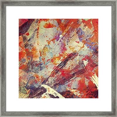 Molten Lava Framed Print