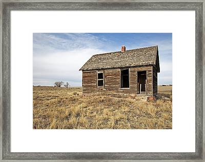 Mom And Dads Old Place Framed Print by James Steele