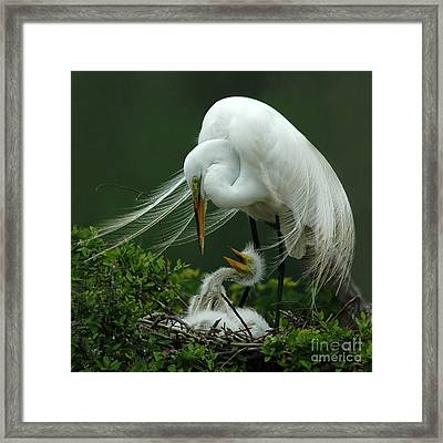 Framed Print featuring the photograph Mom And Me by Vivian Christopher