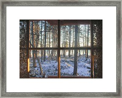 Moment Framed Print by Sipo Liimatainen