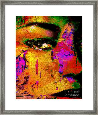 Moments Of Grace Framed Print by Fania Simon