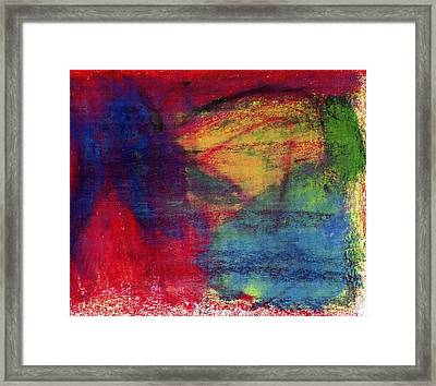 Moms Favorite Drawing Framed Print by Patrick Morgan