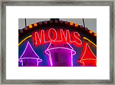 Moms Place Framed Print by Mitch Shindelbower