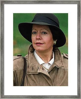 Mona Lisa 1995 Framed Print