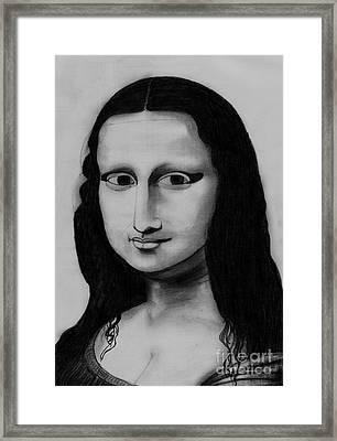 Monalisa Framed Print by Shashi Kumar