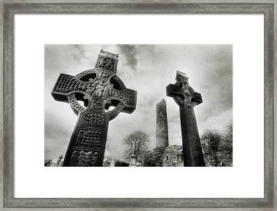 Monasterboice, Co Louth, Ireland, High Framed Print