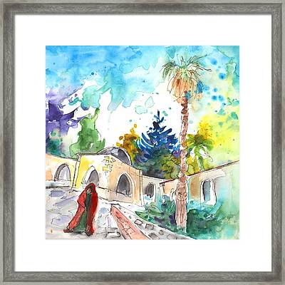 Monastery In Ayia Napa Framed Print by Miki De Goodaboom