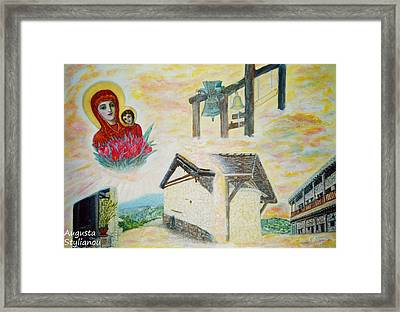 Monastery Of The Virgin Mary Framed Print by Augusta Stylianou