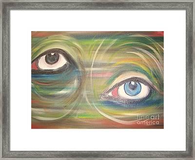 Monday Afternoon Migraine Framed Print by Rachel Carmichael