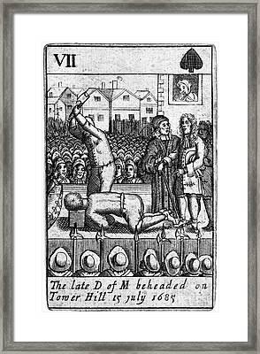 Monmouth Rebellion, 1685 Framed Print
