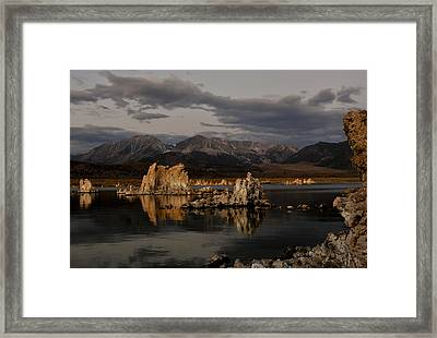 Mono Lake At Sunrise Framed Print
