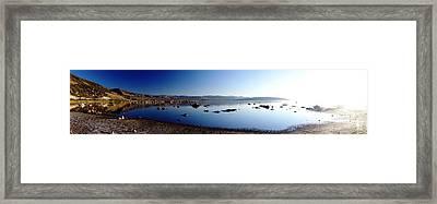 Mono Lake Dawn Framed Print by Michael Courtney