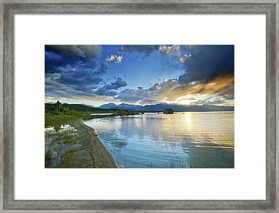 Mono Lake Majesty - California Framed Print by Brendan Reals