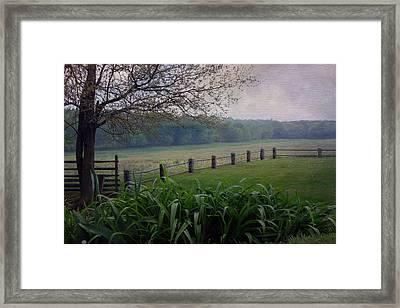 Monocacy Junction Framed Print by Linda Dunn