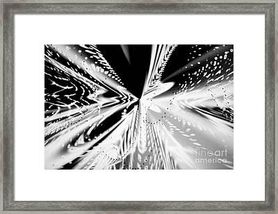 Monochromatic Dance Framed Print by Tashia Peterman