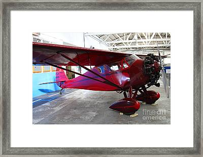 Monocoupe 110 . 7d11144 Framed Print by Wingsdomain Art and Photography