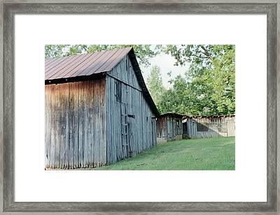 Monroe Barns Framed Print