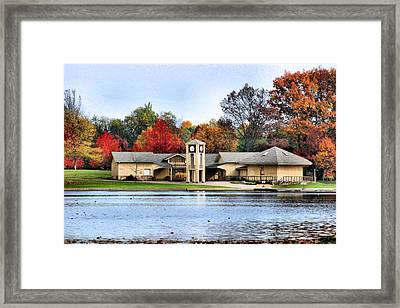Monroe Falls Park Framed Print