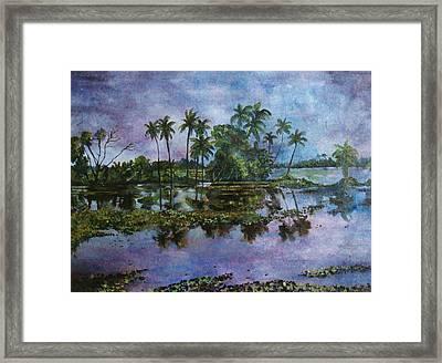 Monsoon Glory-ii Framed Print by Manjula Prabhakaran Dubey