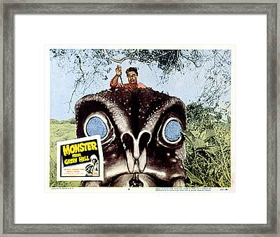 Monster From Green Hell, Jim Davis, 1957 Framed Print by Everett