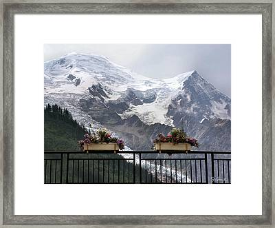 Mont Blanc Framed Print by Joe Bonita
