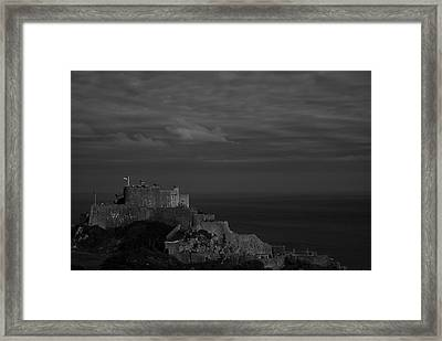 Mont Orgueil Castle Framed Print