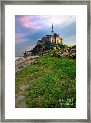 Mont-saint-michel France Framed Print