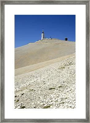 Mont Ventoux.provence Framed Print