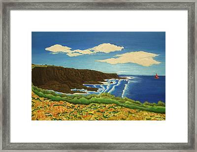 Montana De Oro Framed Print